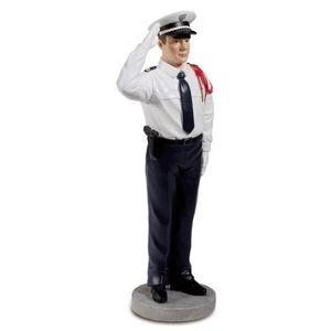 Französischer Polizist bei einer Parade 21cm
