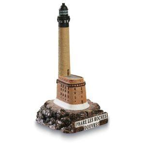 Leuchtturm Roches-Douvres 13cm von 1868 Frankreich