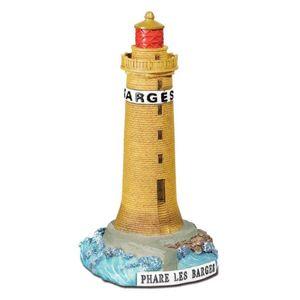 Leuchtturm les Barges 13cm von 1861 Frankreich