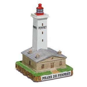 Leuchtturm Penfret 10,5cm von 1837 Frankreich