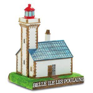 Leuchtturm der Fohlen - Belle Ile les Poulains 8,3cm von 1867 Frankreich