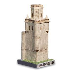 Wachturm Belfried Boulogne sur Mer 12cm 12. Jhdt. Frankreich