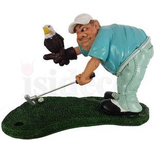 Funny Sport Golf - Golfer mit Eagle Putt Adler 17cm – Bild 2