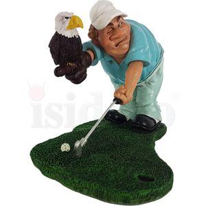 Funny Sport Golf - Golfer mit Eagle Putt Adler 17cm – Bild 3