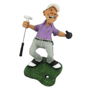 Funny Sport Golf - Golfer jubelt wegen Hole-in-one 16cm