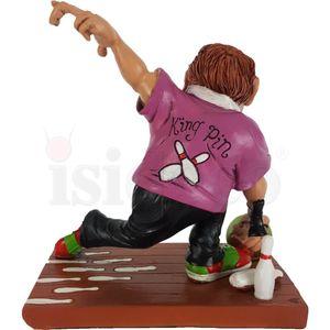 Funny Sport Bowling - Bowlingspieler wirft Kugel 14cm – Bild 4