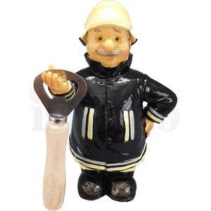 Funny World Beruf - Feuerwehr Mann hält Flaschenöffner 16,5cm – Bild 6