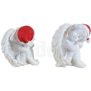 Weihnachten - 2er Set 7,5cm schlafende Weihnachts Engelchen – Bild 3