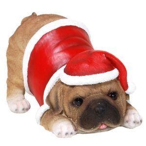 Mops Bilder Weihnachten.Weihnachten Mops Will Spielen Im Weihnachts Kostüm 10 5cm