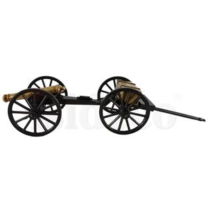 2er Set Civil War Kanone USA 1857 mit Munitionswagen – Bild 2