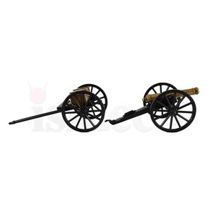 2er Set Civil War Kanone USA 1857 mit Munitionswagen – Bild 5