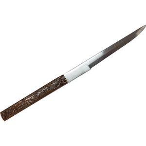 Kozuga Beimesser bronze mit Buddha für Samurai Schwerter – Bild 1