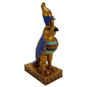 Horus der Himmelsgott als Falke farbig 15cm – Bild 1