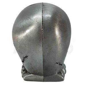 Silberner Totenkopf mit beweglichen Kiefer, Bleistiftspitzer – Bild 6