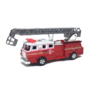 Bleistiftspitzer Feuerwehr Auto mit herausfahrbarer Leiter