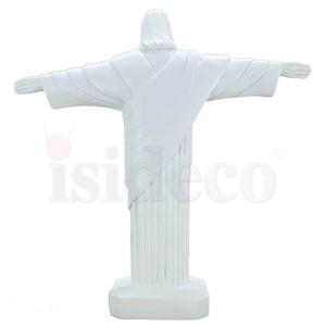 Christus Statue 21,5cm weiß nach Cristo Redentor in Rio de Janeiro – Bild 4