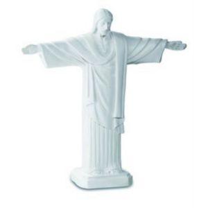 Christus Statue 31cm weiß nach Cristo Redentor in Rio de Janeiro – Bild 1