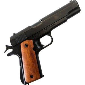 Deko Pistole Colt M1911A1 Government 1923 mit lackierten Holzgriffschalen – Bild 1