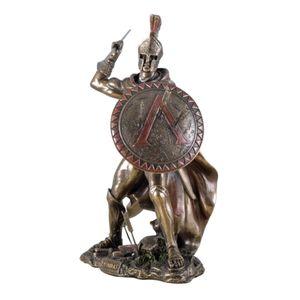 Leonidas Speer und Schild klein bro-col. – Bild 1
