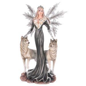 Dark Fairy Cristallupa mit 2 Wölfen