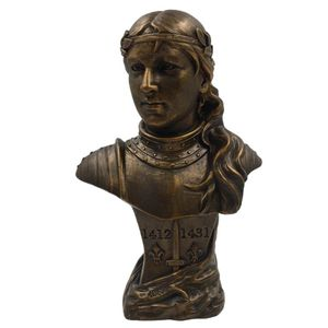 Büste Jeanne d'Arc nach Goldscheider 1904 Johanna von Orleans 42cm – Bild 1