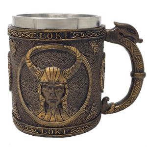 Krug Wikinger Gott Loki 15cm – Bild 1