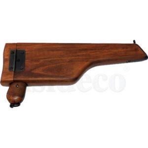 Deutsche Deko Selbstladepistole Mauser C96 mit Gewehrschaft zum öffnen – Bild 6