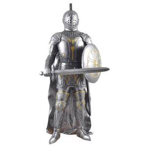 Chaos Ritter mit Schwert und Schild stehend 33cm