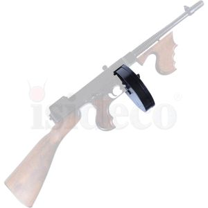 Trommelmagazin für Deko Maschinenpistole Thompson 1928A1 Mafia Gun – Bild 2