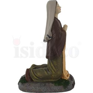 16cm Figur Bernadette Soubirous - Seherin von Lourdes – Bild 3