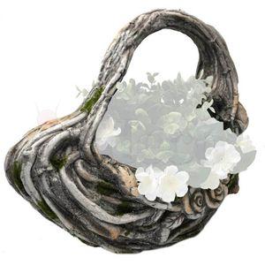 Gartenfigur herzförmige Pflanzschale 36cm – Bild 3