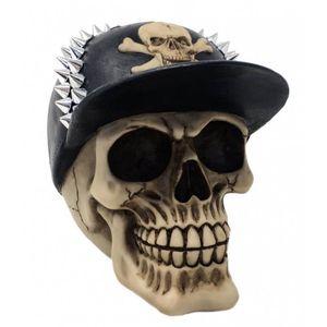 Totenkopf mit Nieten Baseball Cap 16cm – Bild 1