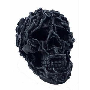 Totenkopf mit Frauen verziert 18,5cm – Bild 1