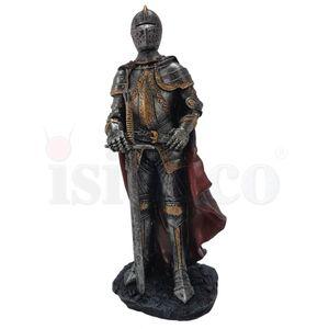 Ritter mit rotem Umhang und Schwert 18,5cm – Bild 4