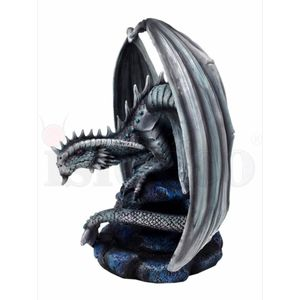 Mutter Drache Draco Petra - Rock Dragon by Anne Stokes 20cm – Bild 3