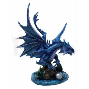 Mutter Drache Draco Aqua - Water Dragon by Anne Stokes 31cm – Bild 2