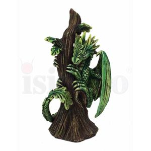 Baby Drache Draco Saltus - Forest Dragon by Anne Stokes 13cm – Bild 3