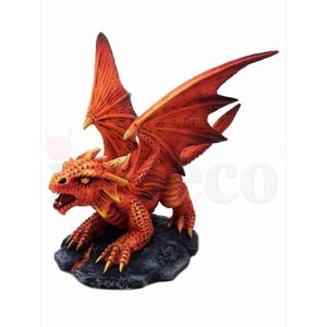 Baby Drache Draco Ignis - Fire Dragon by Anne Stokes 13cm – Bild 3