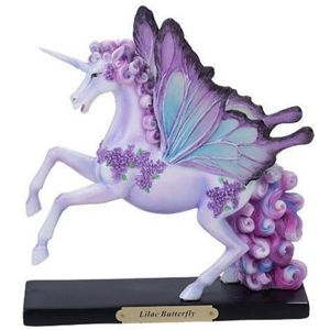 Lilac Butterfly Unicorn Einhorn lila by Catherine Rose 18cm