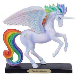 Rainbow Dancer Unicorn Regenbogen Einhorn by Catherine Rose 18cm