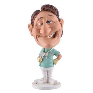 Funny Life - Wackelkopf Zahnarzt mit gezogenen Zahn - Bobble-Head 15cm