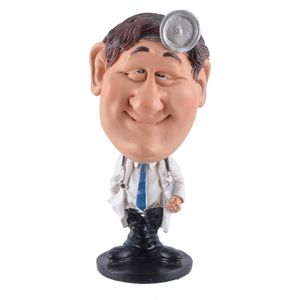 Funny Life - Wackelkopf Arzt mit Stethoskop - Bobble-Head 15cm
