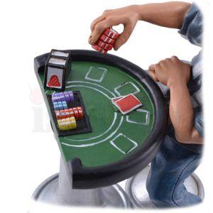 Funny Life - Pokerspieler am Pokertisch 16cm – Bild 6