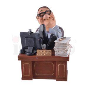 Funny Life - Boss sitzt entspannt an seinem Schreibtisch 14cm – Bild 2