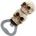 Flaschenöffner Totenkopf mit Magnet für Kühlschrank 10cm 001