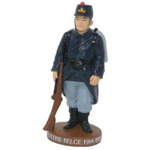 WWI Figur belgischer Soldat 12,8cm 1914-18