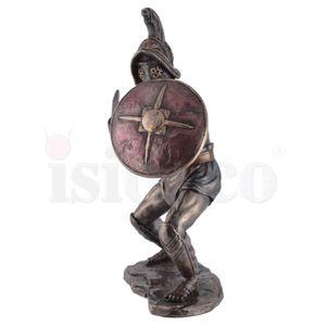 Kämpfender Gladiator Murmillo mit Gladius und Parmula passt zu IVE708-7527 – Bild 4