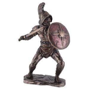 Kämpfender Gladiator Murmillo mit Gladius und Parmula passt zu IVE708-7527 – Bild 1
