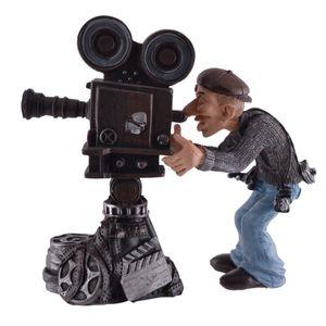 Funny Job - Kameramann filmt mit großer Kamera 18cm – Bild 1