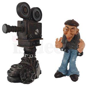 Funny Job - Kameramann filmt mit großer Kamera 18cm – Bild 6
